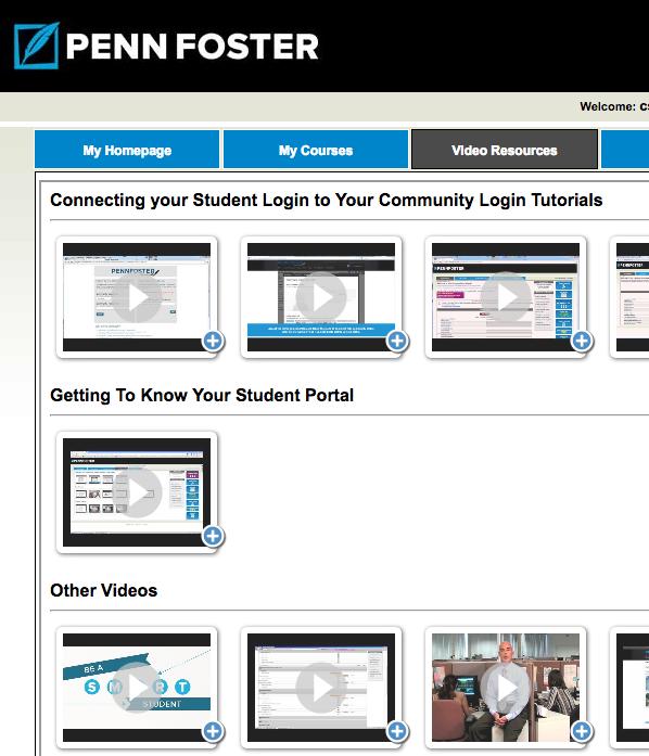 Penn Foster Student Portal « Teach Em @ Home